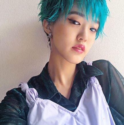 rikarin_hair in green