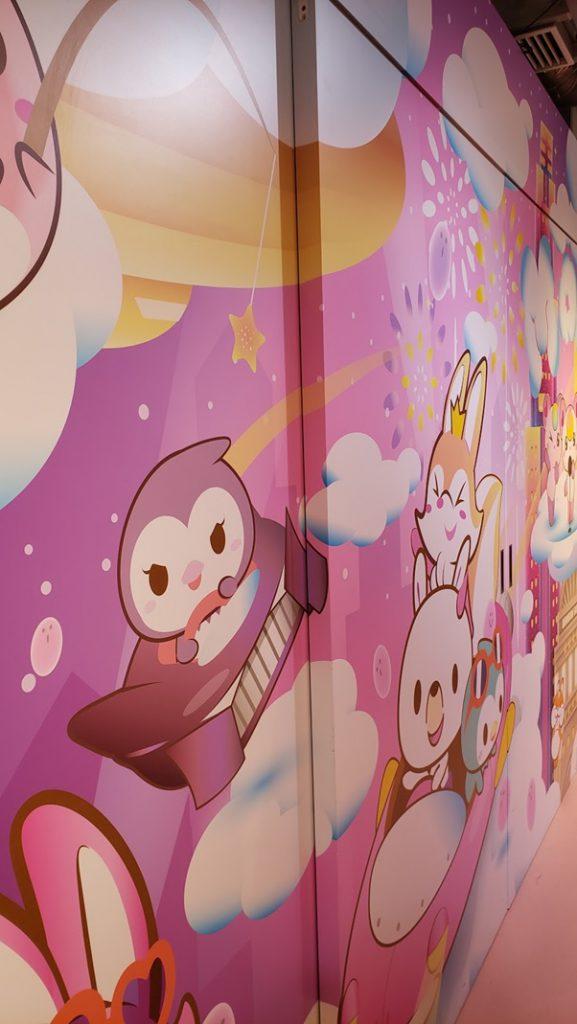 Mooosh Interior - Wall full of cute drawings