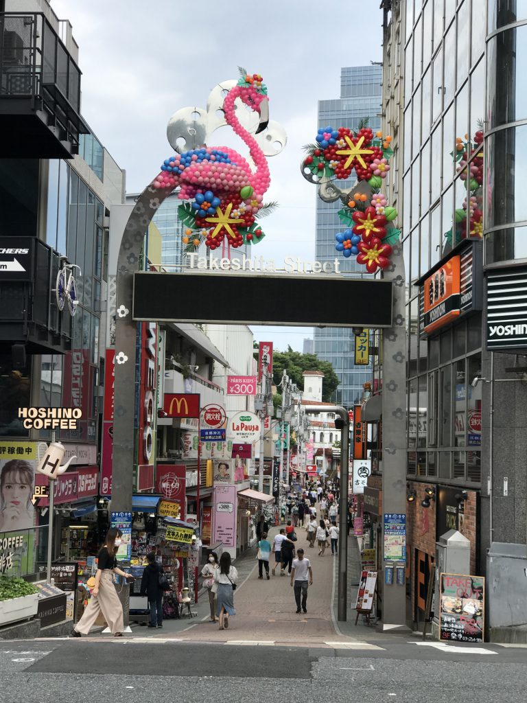Takeshita Street, Harajuku Tokyo in May 28th 2020 after Japan government lifted up a state of emergency in May 25th.