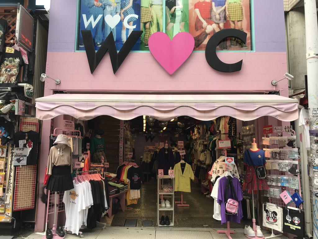 W♡C opens in Harajuku, Takeshita Street.