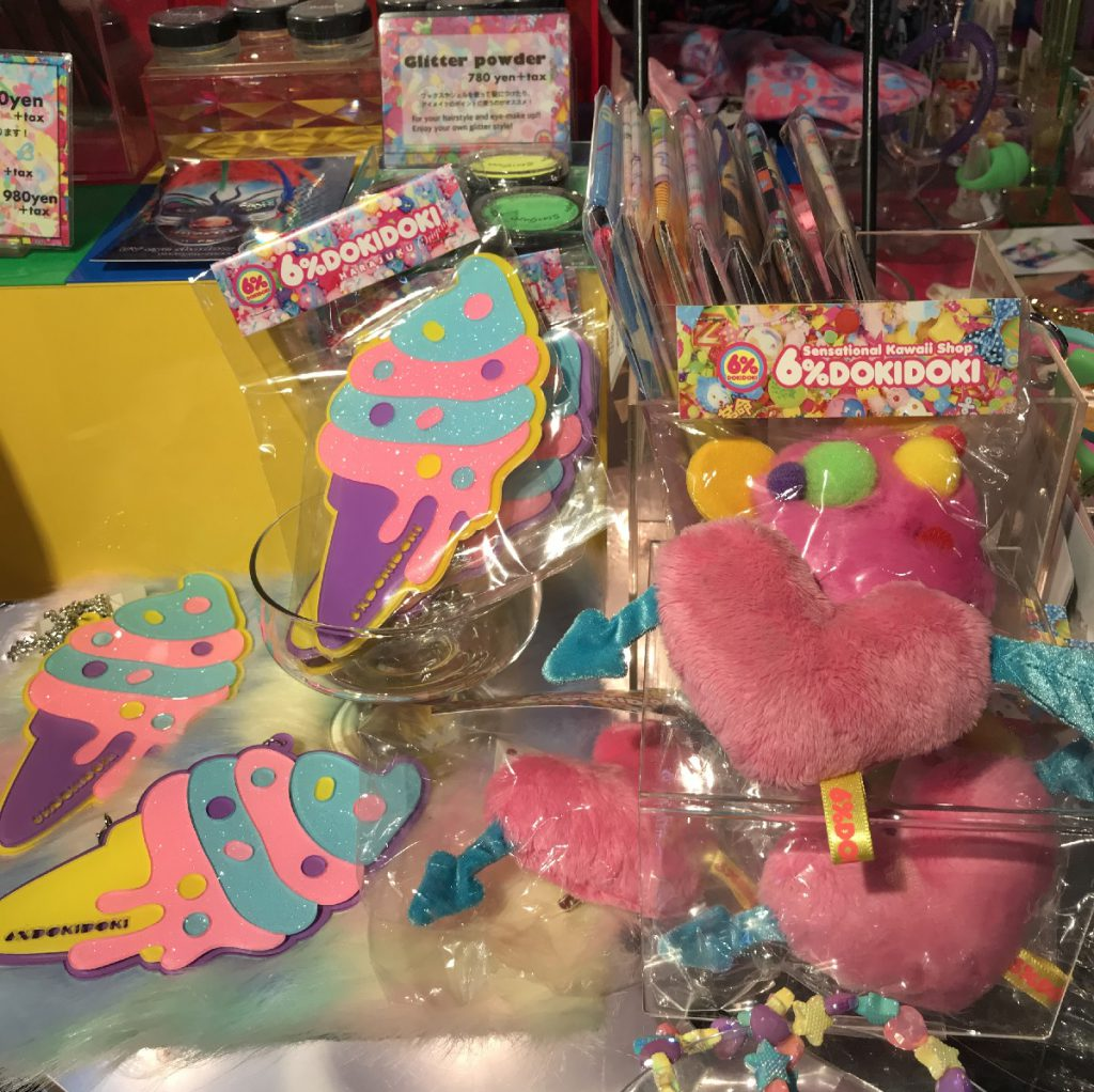 You can find fluffy accessaries too at 6% DOKIDOKI in Harajuku, Tokyo