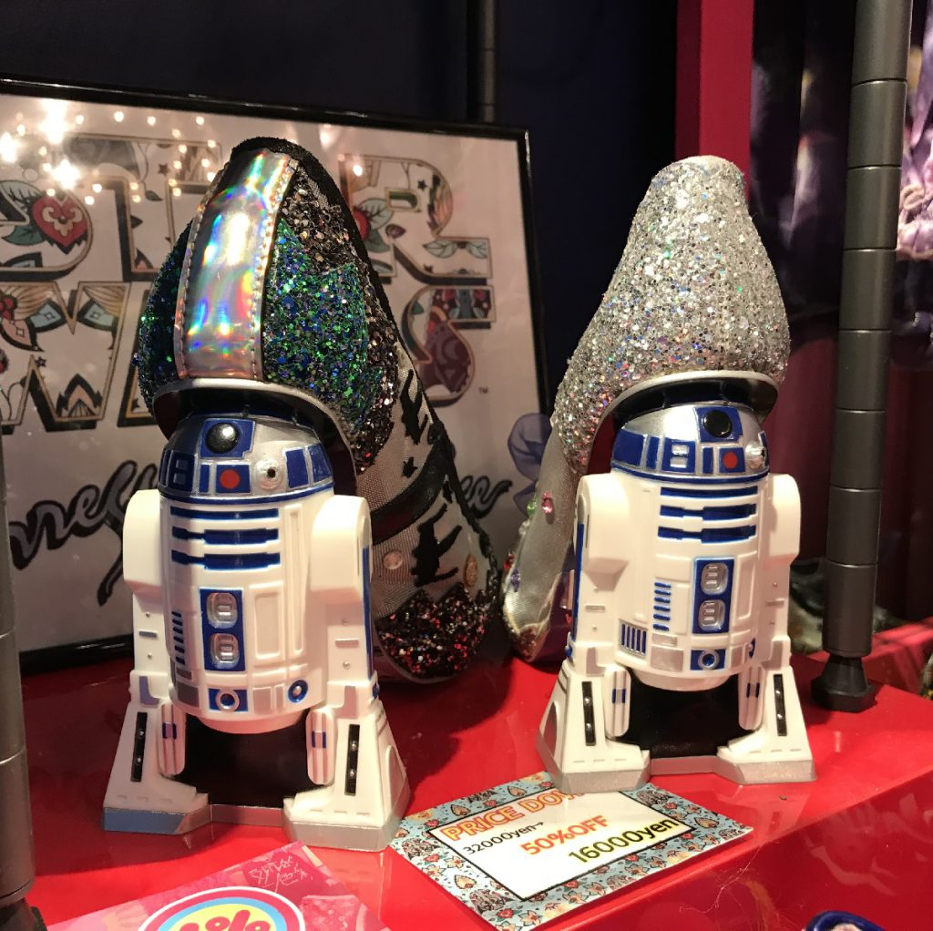 Beautiful shoes with R2-D2 from Irregular Choice at 6% DOKIDOKI in Harajuku Tokyo